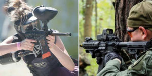 airsoft vs paintball
