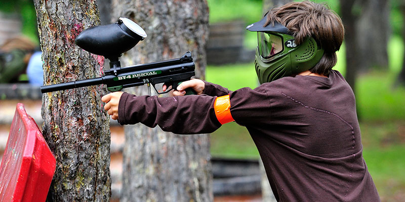 paintball for kids