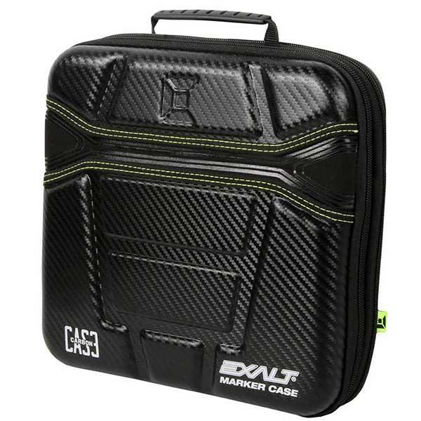 Exalt Paintball Carbon Series Marker Case/Gun Bag - Black/Lime