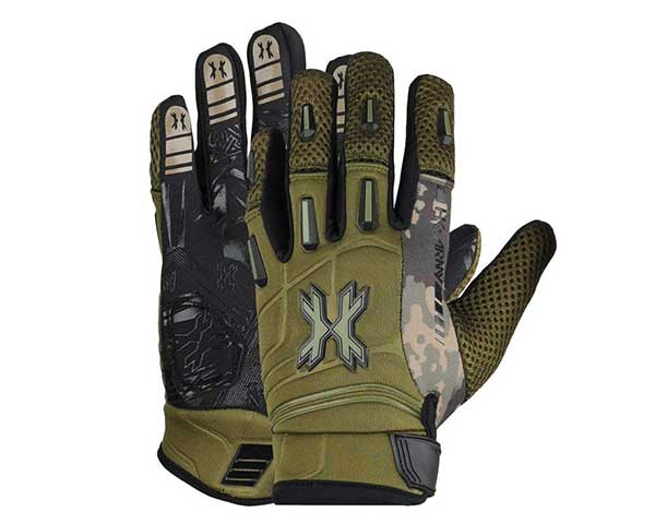 HK Army FULL FINGER Hardline Paintball Gloves