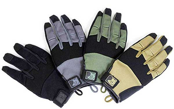 PIG Full Dexterity Tactical (FDT) Charlie - Women's Glove (Black, Small)